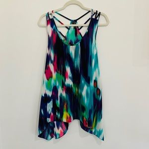 Maurice's tunic cami in exciting colors